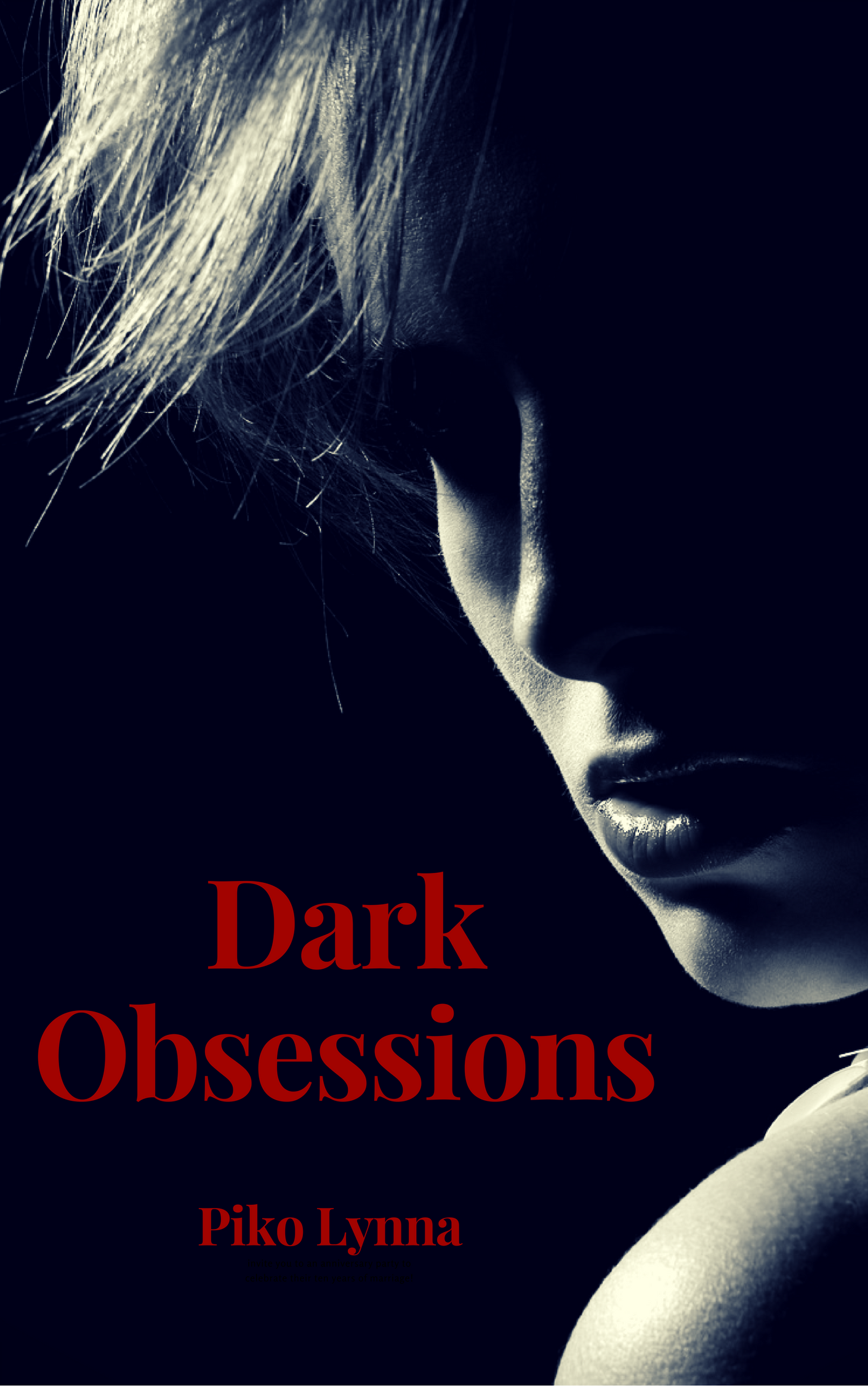 couverture ebook Dark Obsessions