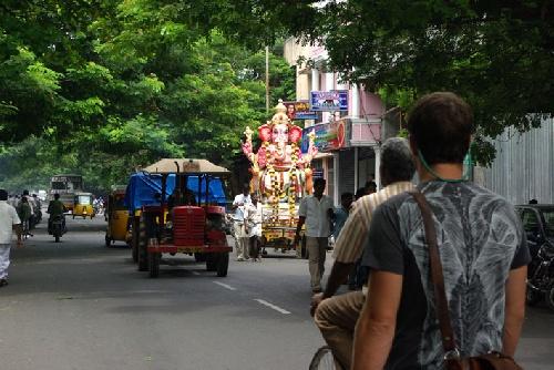 Ganesh à l'eau