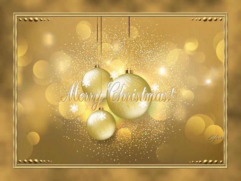 Carte de Noël ღ