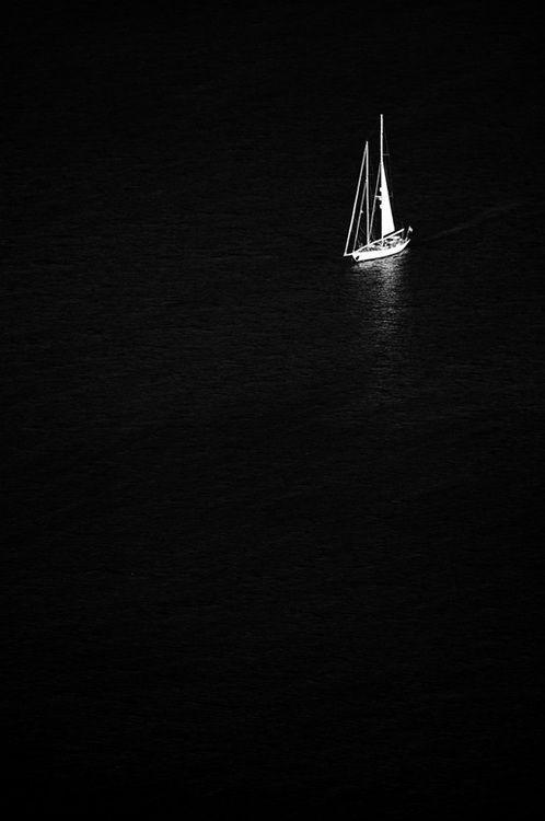 blackness | darkness | solitude | sailing | sail | noir | solitude | black |