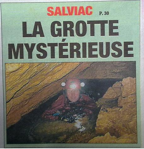 Article Grotte de Bardalie