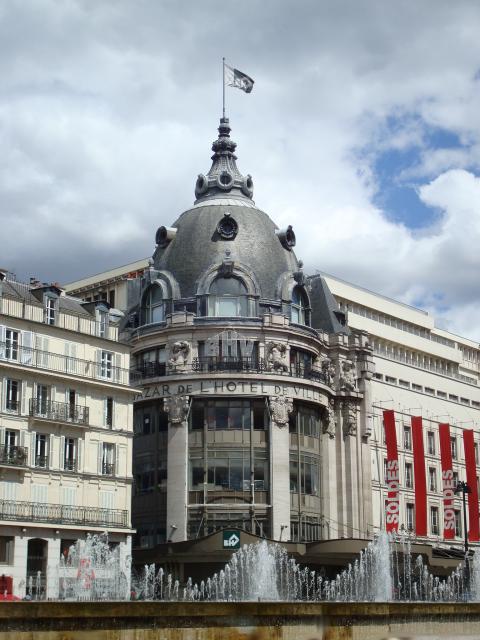 Histoire du Magasin du BAZAR de l'HOTEL de VILLE