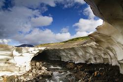 Une Grotte de glace et de beauté