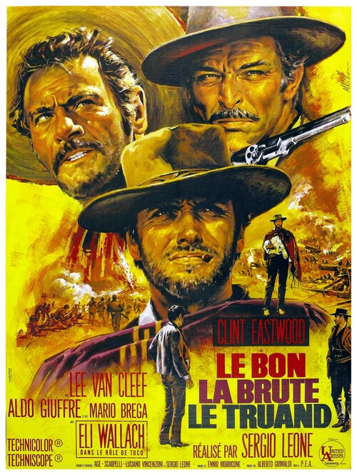LE BON LA BRUTE ET LE TRUAND - BOX OFFICE CLINT EASTWOOD 1968