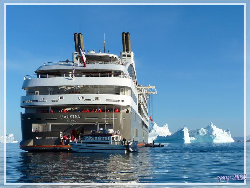 Débarquement à Ilulissat - Groenland