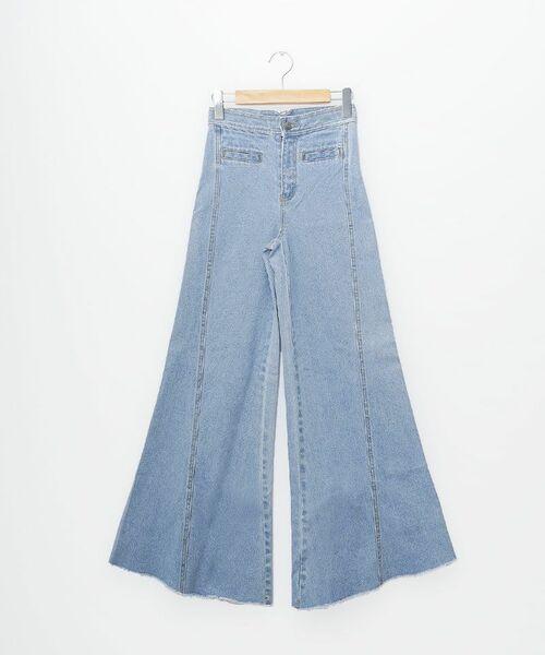[PIMMY] - Jeans évasé large - 7 452¥