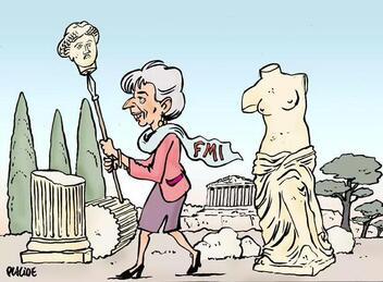 Le live en direct / Le  défaut grec a commencé