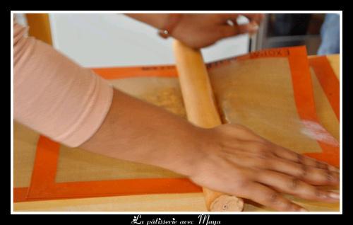 Atelier Muffins Chocolat-Banane / Plaque de Nougatine