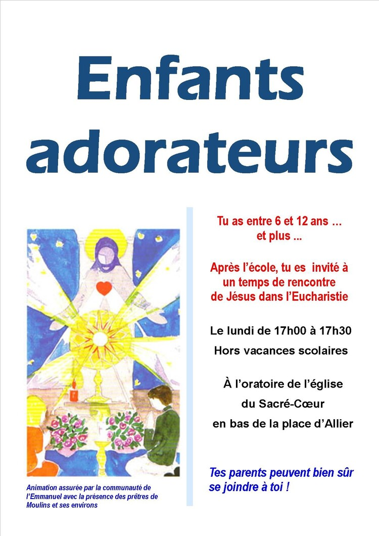 Enfants Adorateurs