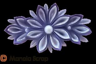Petites fleurs en tissus 2