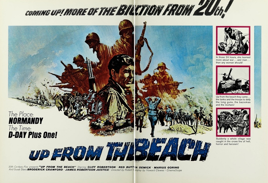 UP FROM THE BEACH BOX OFFICE USA 1965