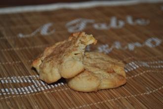 Cookies à la pomme-cannelle