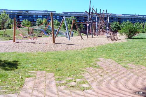 Un jardin public de Toulouse