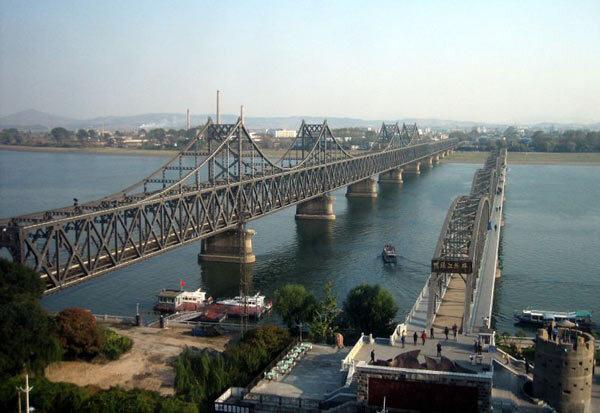 Yalu . Coree du Nord