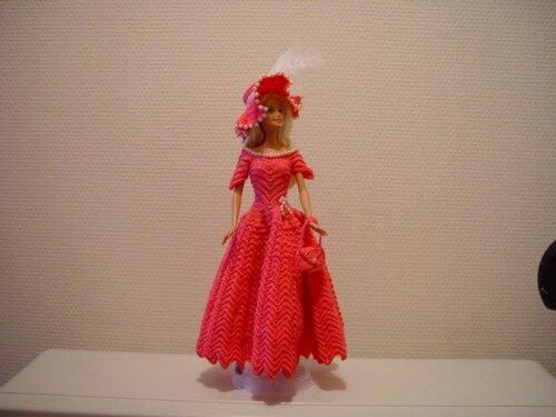 Vos ancées pour le CAL, Barbie Jade (8)