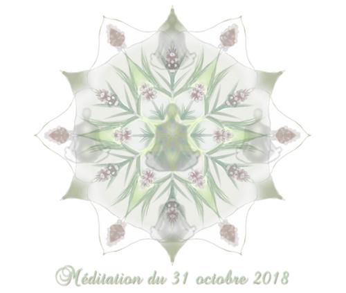 Méditation du 31 octobre 2018