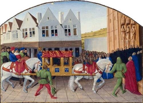 Le tourisme au Moyen-Âge...