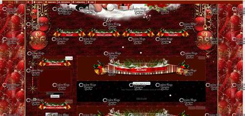 """Design Noël """" Gloria """""""