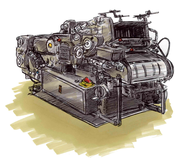 Crobards de machines d'imprimeur