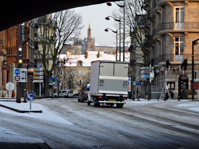 Centre Pompidou Metz neige 5