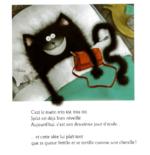 """PS/LANGAGE/ Prolongement album """"Splat la chat"""" / Portraits Art et émotions peur/joie"""