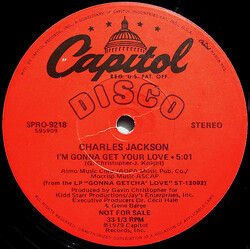 Charles Jackson - I'm Gonna Get Your Love