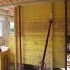 réalisation des coffrages pour l\'escalier béton 004