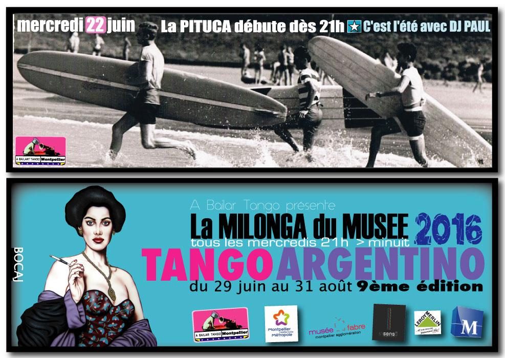 ★ La PITUCA arte /Tango ce soir MERCREDI 22 JUIN dès 21h avec DJ PAUL ★