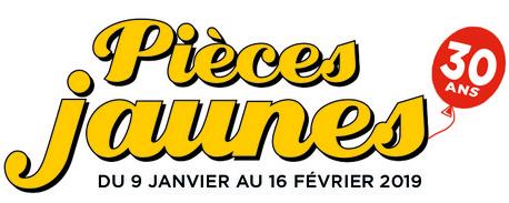 Pièces jaunes 2019