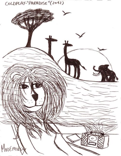 Crayon musical...dans la savane