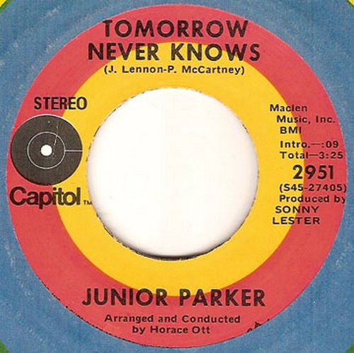 Junior Parker : Tomorrow Never Knows