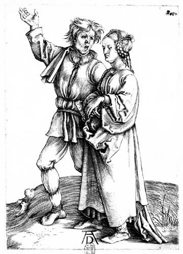 Le paysan et sa femme (Dürer)