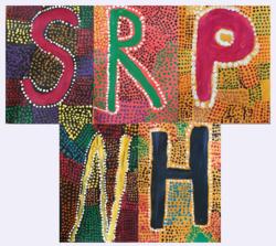 Alphabet décoratif