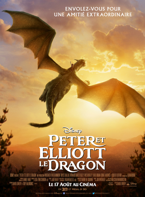 PETER ET ELLIOT LE DRAGON (2016)