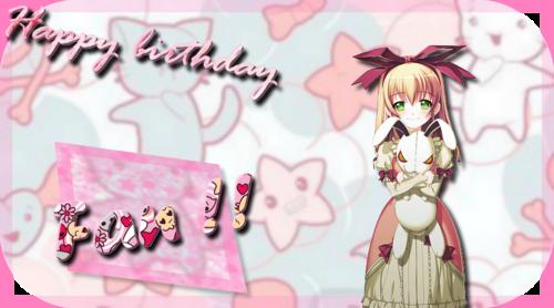 joyeux anniversaire fan !