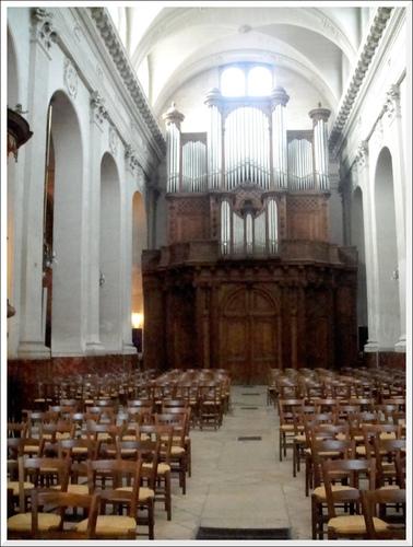 Paris. Eglise Notre-Dame des Blancs-Manteaux