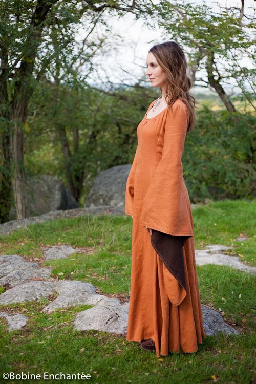 """La robe feuille d'automne """"Déliérine"""""""