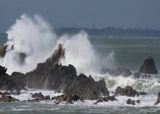 La Mer en furie