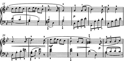 Vieille chanson française, Piotr Illitch Tchaïkowski