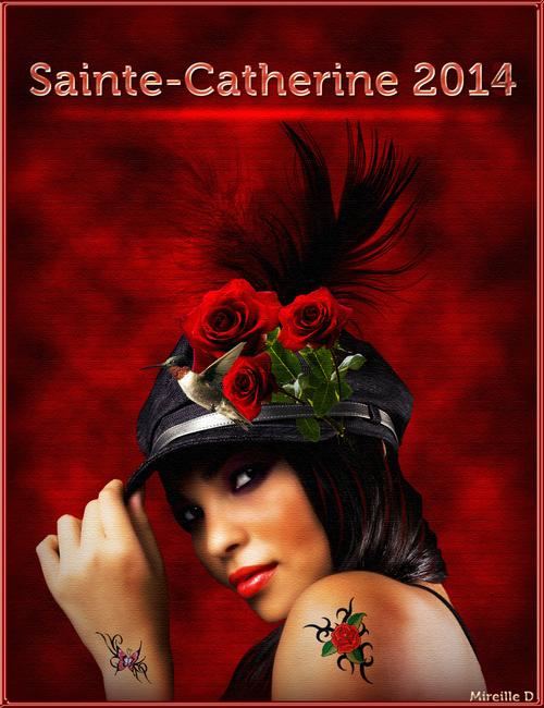 Cartes de Sainte-Catherine