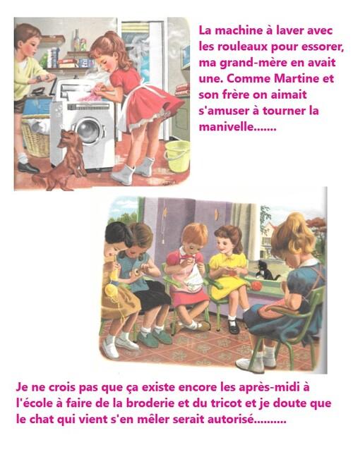 "les livres de ""Martine""......."