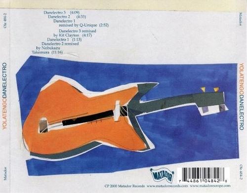Les SINGLéS - Yo La Tengo - Danelectro EP (2000)