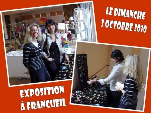 Exposition à Francueil le dimanche 3 octobre 2010