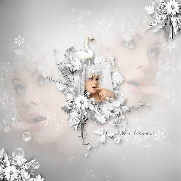 """Like a Diamond"" de LadyRdesigns"