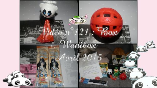 "Box | Wanibox For Dog "" Printemps "" - Avril 2015"