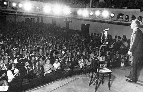 23 septembre 1964 : première de Georges Brassens à Bobino
