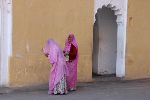 Dans le fort de Jodhpur