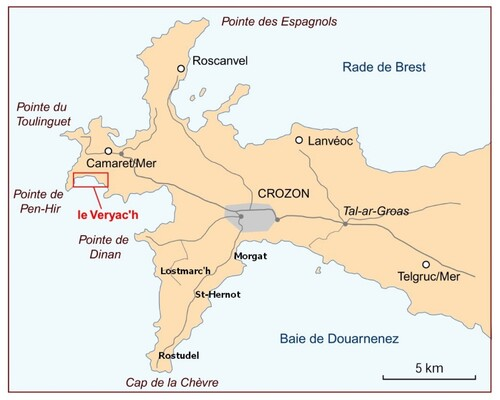 Pointe de Dinan et son Château - Finistère mai 2019