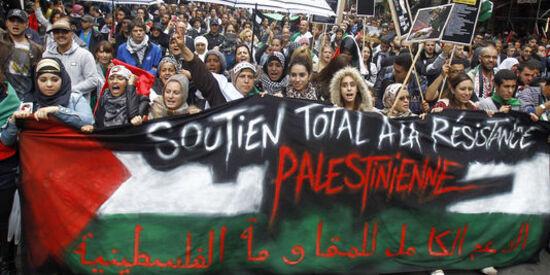"""Vive la Palestine sans l'antisionisme"""