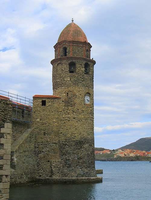 Collioure (Pyrénées-Orientales) :Château royal et